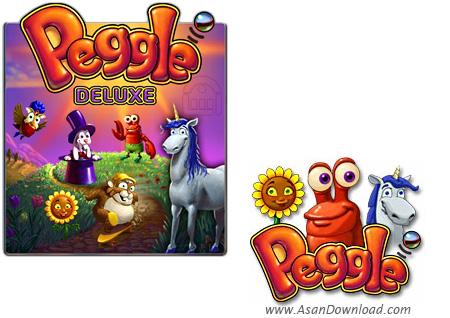 دانلود Peggle Deluxe v1.0.0.1 - بازی تست خوش شانسی با توپ های رنگی