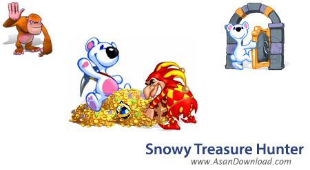 دانلود Snowy Treasure Hunter v3 - بازی ماجراهای سگ برفی