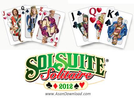 دانلود SolSuite Solitaire 2012 v12.3 - مجموعه 541 بازی کارتی