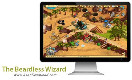 دانلود The Beardless Wizard - بازی سرگرم کننده و جذاب