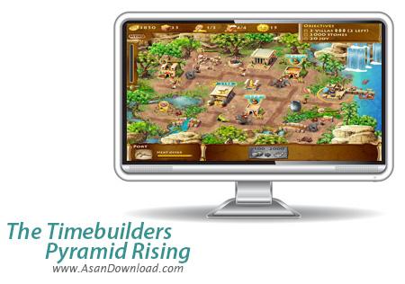 دانلود The Timebuilders: Pyramid Rising - بازی آباد سازی مصر باستان