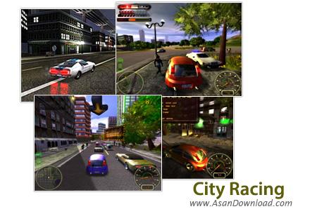 دانلود City Racing - بازی مسابقات اتومبیل رانی