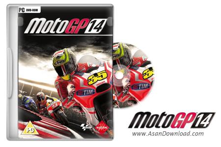 دانلود MotoGP 14 - بازی جذاب موتورسواری