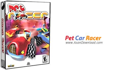 دانلود Pet Car Racer - بازی مسابقات اتومبیل رانی حیوانات