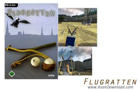 دانلود Flugratten - بازی فراری دادن پرندگان بوسیله تیرکمان