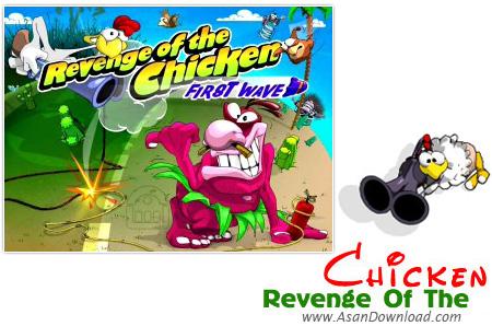 دانلود Revenge Of The Chicken - بازی خروس تیر انداز در انتقام از مرغ ها