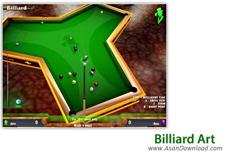 دانلود Billiard Art - بازی بیلیارد حرفه ای سه بعدی