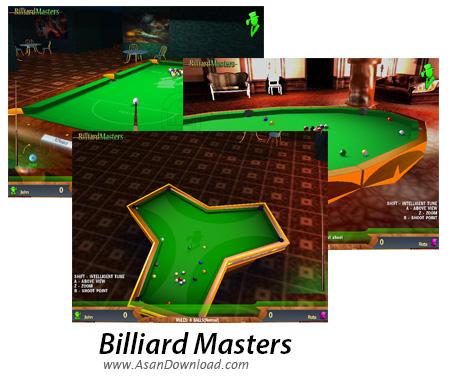 دانلود Billiard Masters - بازی بیلیارد به صورت کامپیوتری