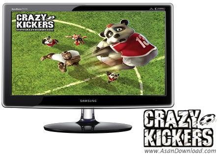 دانلود Crazy Kickers - بازی مسابقات قهرمانی فوتبال حیوانات