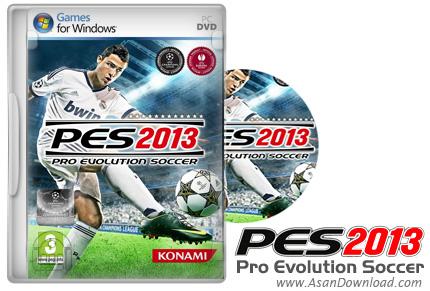 دانلود Pro Evolution Soccer 2013 - نسخه نهایی بازی جذاب PES 2013