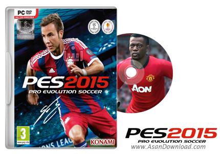 دانلود نسخه نهایی PES 2015: Pro Evolution Soccer 2015 بازی فوتبال حرفه ای برای PC