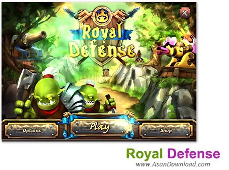 دانلود Royal Defense v1.0 - بازی مبارزه با ترول ها