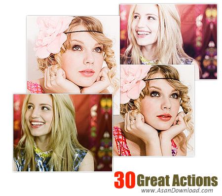 دانلود مجموعه 30 اکشن فتوشاپ - Rockstar 30 Great Actions