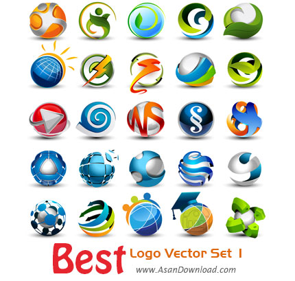 دانلود زیباترین لوگوهای وکتور بخش اول-Download Best Logo Vector