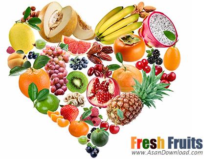 دانلود تصاویری از میوه های تازه  - Fresh Fruits