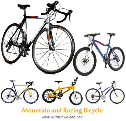 دانلود تصاویر دوچرخه های مسابقه ای - Mountain and Racing Bicycle