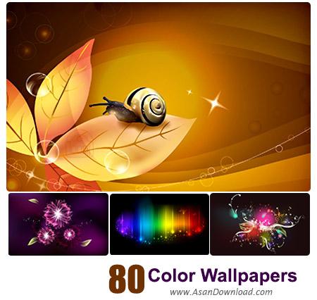 دانلود والپیپر با طرح های رنگارنگ - Color Desktop Wallpapers 80