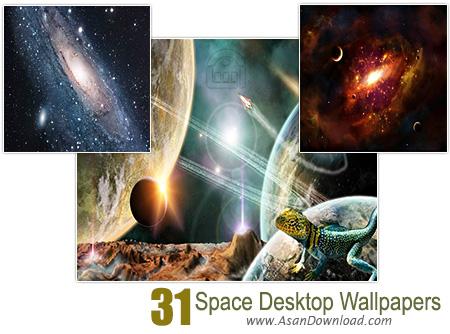 دانلود والپیپرهای فضا و كرات آسمانی - Space Desktop Wallpapers 31