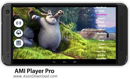 دانلود AMI Player Pro v1.1.8 - نرم افزار موبایل پخش کننده چند رسانه ای اندروید