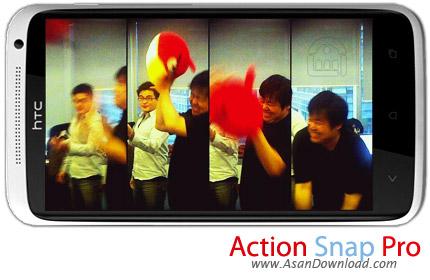 دانلود Action Snap Pro v1.5 - نرم افزار موبايل گرفتن عکس پی در پی