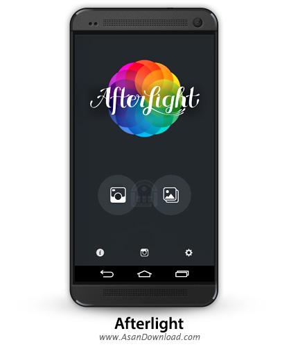 دانلود Afterlight v1.0.6 - اپلیکیشن موبایل افتر لایت برنامه افکت گذاری و ویرایش تصاویر
