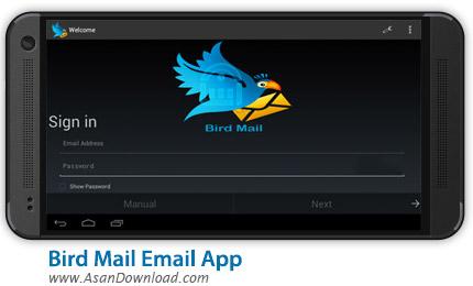 دانلود Bird Mail Email App 2245.82c - مدیریت ایمیل اندروید