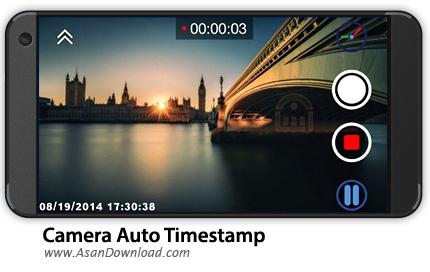 دانلود Camera Auto Timestamp v2.24 - نرم افزار موبایل ثبت خودکار تاریخ و زمان در تصاویر