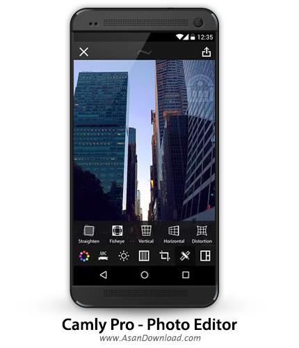 دانلود Camly Pro - Photo Editor v1.9 - اپلیکیشن موبایل ویرایشگر حرفه ای تصاویر