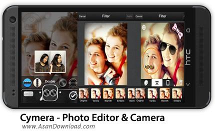 دانلود Cymera - Photo Editor & Camera v2.1.1 - نرم افزار موبایل ویرایشگر عکس