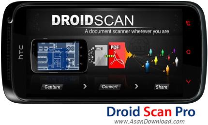 دانلود Droid Scan Pro v5.7.4 - نرم افزار موبایل اسکن تصاویر