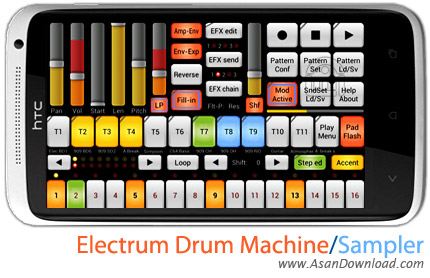 electrum drum machine sampler. Black Bedroom Furniture Sets. Home Design Ideas