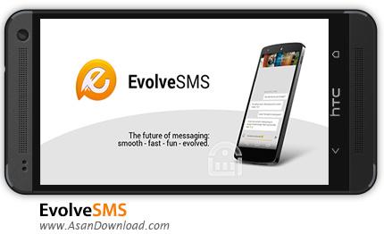 دانلود EvolveSMS v3.1.0 - نرم افزار موبایل مدیریت پیامک و پیام رسانی اندروید