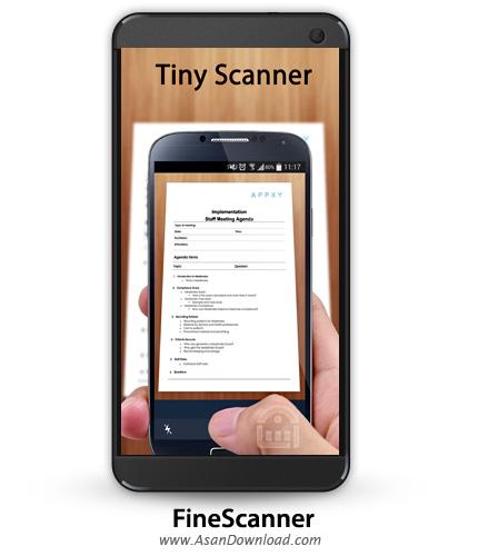 دانلود FineScanner Pro - PDF Document Sanner App + OCR v1.10.529 - نرم افزار موبایل اسکن جیبی