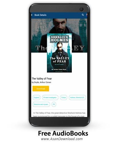دانلود Free AudioBooks Pro v1.2.0.5 - نرم افزار موبایل مجموعه کتاب های صوتی