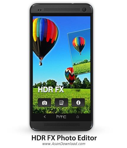 دانلود HDR FX Photo Editor Pro v1.5.5 - نرم افزار موبایل تولید عکس های اچ دی آر