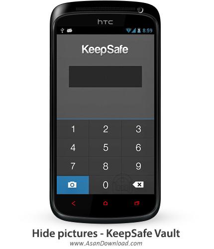 دانلود Hide pictures - KeepSafe Vault v3.1.9 - نرم افزار موبایل مخفی سازی تصاویر