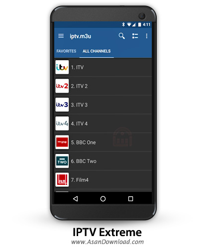 دانلود IPTV Extreme v66.0 - نرم افزار موبایل تلویزیون آنلاین