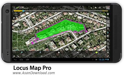 دانلود Locus Map Pro - Outdoor GPS v3.7.0 - نرم افزار موبایل جی پی اس حرفه ای