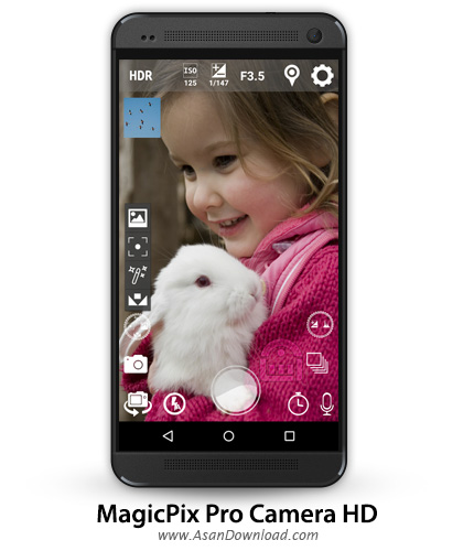 دانلود MagicPix Pro Camera HD v2.3.3 - اپلیکیشن موبایل دوربین هوشمند اندروید