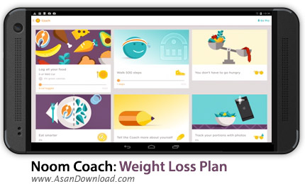 دانلود Noom Coach: Weight Loss Plan PRO v4.6.8 - اپلیکیشن موبایل تناسب اندام و کاهش وزن