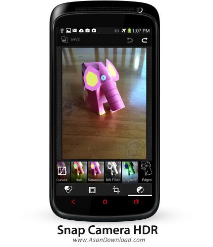 دانلود Snap Camera HDR v6.3.3 - نرم افزار موبایل عکاسی حرفه ای