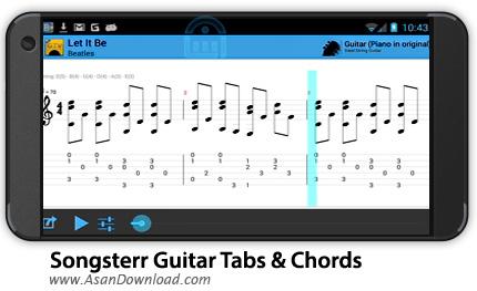 دانلود Songsterr Guitar Tabs & Chords v2.0.15 - نرم افزار موبایل تب و آکورد گیتار