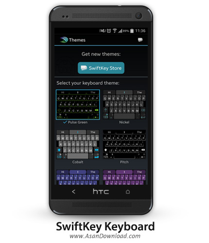 SwiftKey Keyboard & Free Emoji 5.2.2.126 - کیبورد اندروید