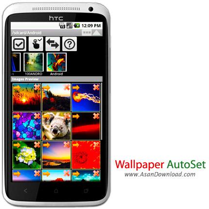 دانلود Wallpaper AutoSet v1.2.7 - نرم افزار موبایل تغییر خودکار پس زمینه