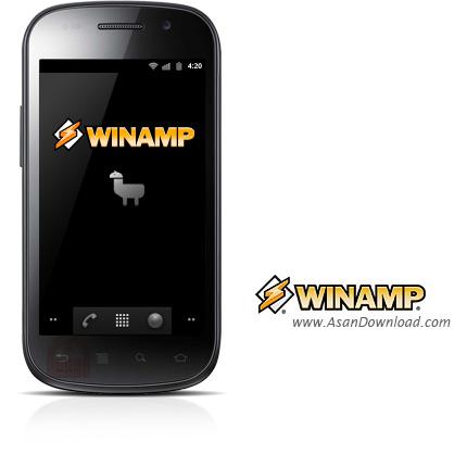 دانلود Winamp Pro v1.4 - نرم افزار موبایل پخش کننده فایل های صوتی