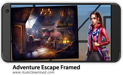 دانلود Adventure Escape: Framed v1.20 - بازی موبایل ماجراجویی فاب + نسخه بی نهایت