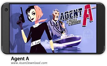 دانلود Agent A: A puzzle in disguise v3.6.0 - بازی موبایل مامور A + دیتا