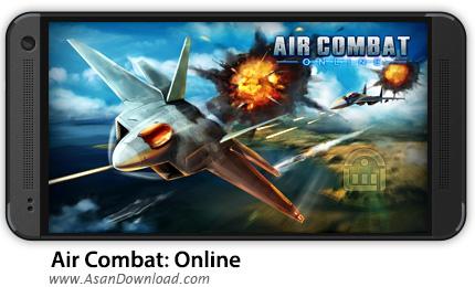 دانلود Air Combat: Online v2.2.2 - بازی موبایل آنلاین مبارزات هوایی اندروید + دیتا