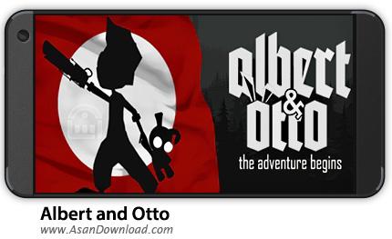 دانلود Albert and Otto v1.0.5 - بازی موبایل آلبرت و آتو +نسخه بی نهایت + دیتا