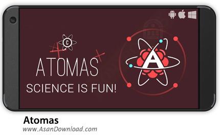 دانلود Atomas v2.31 - بازی موبایل شیمیدان ها + نسخه بی نهایت